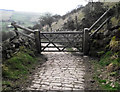 SJ9573 : Gate on Saddlers Way by Jonathan Kington