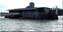 TQ3078 : London Fire Brigade Lambeth River Station by Thomas Nugent