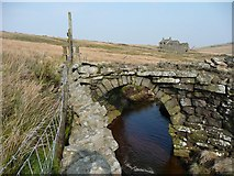 SD9329 : Noah Dale Bridge, Heptonstall by Humphrey Bolton