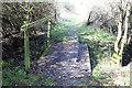 TL1367 : Footbridge along footpath by Simon Judd