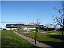 NT6779 : East Lothian Townscape : Dunbar Leisure Pool by Richard West