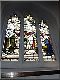 TQ2475 : All Saints, Fulham: stained glass window (5) by Basher Eyre