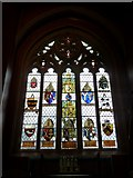 TQ2475 : All Saints, Fulham: stained glass window (15) by Basher Eyre