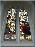 TQ2475 : All Saints, Fulham: stained glass window (13) by Basher Eyre