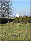 SJ9377 : White Nancy, Bollington by Peter Turner
