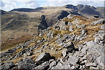 NY2604 : The western side of Pike O'Blisco by Bill Boaden