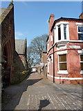 SJ4692 : Vicarage Place, Prescot by Alexander P Kapp