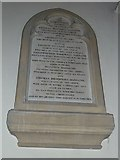 TQ2475 : All Saints, Fulham: memorials (20) by Basher Eyre