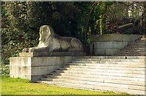 TQ3370 : Sphinx, Crystal Palace Park by Julian Osley