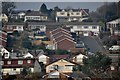 SX9577 : Dawlish : Houses on the hillside by Lewis Clarke