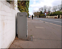 J3774 : Traffic counter, east Belfast by Albert Bridge