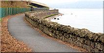 J4080 : Coastal path, Cultra (1) by Albert Bridge