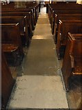 TQ2475 : All Saints, Fulham: side aisle by Basher Eyre