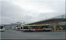 SE1632 : Bradford Interchange - Bus Station by Betty Longbottom