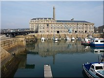 SX4653 : Basin and Mills and Bakery building, Royal William Yard, Plymouth by Derek Harper