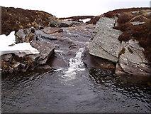 NN6667 : Eas number three on Allt Leathad Easain's way to Loch Errochty by ian shiell