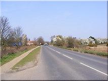 TM3959 : B1069 Church Road, Snape by Geographer
