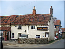 TG0243 : Blakeney, King's Arms by Colin Smith