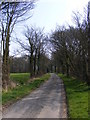 TM3960 : Red Lane, Sternfield by Geographer