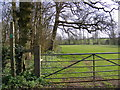 TM3461 : Footpath to Benhall Street by Geographer