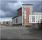 SK5803 : Student accommodation in Filbert Village by Mat Fascione
