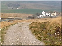 SD7992 : The Pennine Bridleway heading into Wensleydale by Christine Johnstone