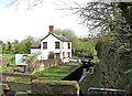 SO8480 : Debdale Lock, Staffs & Worcs Canal, near Cookley by P L Chadwick