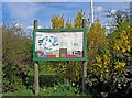 SO8480 : Notice board, Cookley Playing Fields, Cookley by P L Chadwick