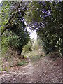 TM3760 : Footpath to Monks Valley House entrance by Adrian Cable