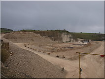 SK2055 : Ballidon quarry by Paul Glover