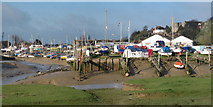 TQ9220 : Boats at Rye by Oast House Archive