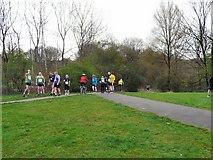 SJ9594 : Five Mile Race by Gerald England