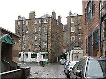 NT2774 : Sunnyside tenement and workshops by M J Richardson