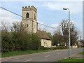 TL4352 : Hauxton: St Edmund by John Sutton