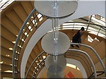 TQ7407 : De La Warr Pavilion Staircase by Paul Gillett