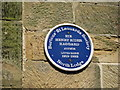 TQ7909 : Blue plaque on North Lodge by Oast House Archive