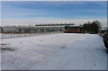 SK8508 : Rutland Plastics car park by Andrew Tatlow