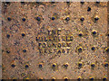 J5081 : Manhole cover, Bangor by Rossographer