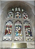 SP5105 : Oxford's Christ Church Cathedral: stained glass window (xiii) by Basher Eyre