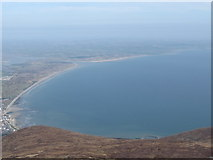 J3830 : Dundrum Bay from near the summit of Donard by Eric Jones
