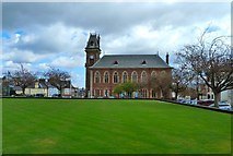 NX4355 : Wigtown Town Hall and Library by Andy Farrington