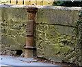 J3975 : Boundary post, east Belfast (4) by Albert Bridge