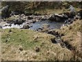 NS3295 : Tributary flows into Glen Striddle burn by Alec MacKinnon