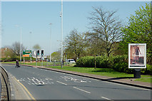 SO9198 : Ring Road St George's, Wolverhampton by Roger  Kidd