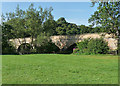 NY8383 : Bridge, Bellingham by Stephen Richards