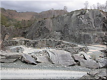 NY3204 : The Burlington Company's Elterwater Quarry II by Peter Turner