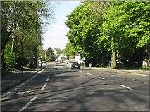 TQ1785 : Harrow Road at Barham Park by Peter Whatley