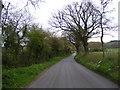 TM3365 : Bruisyard Road by Geographer