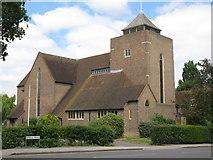 TQ3765 : All Saints Church, Bridle Road / Farm Drive, CR0 by Mike Quinn