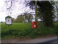 TM2246 : Playford Road Postbox by Adrian Cable